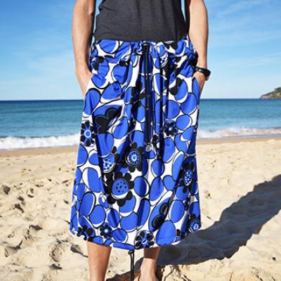 BLUE FLORAL PRINT Bottom Change Mate Sydney Australia