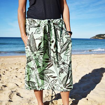 MINT & BROWN FLORAL PRINT Bottom Change Mate Sydney Australia